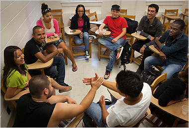 """<b>Youth Services</b><br> <p> Based on the belief that positive conflict resolution should become a life-long competence, and research showing that schools that incorporated this approach became safer environments with improved achievement, CRCMC developed several programs for youth. The programs seek to address a continuum of intensity, from arguments to damaging conflicts. In the past, we worked with schools on peer mediation programs. Presently we are focusing on community conferencing and dialogue circles. </p> <p> <b>COMMUNITY CONFERENCING</b><br> Community Conferencing is a program of restorative justice for youth. Referrals come from the Department of Juvenile Services (DJS), police, and schools. CRCMC facilitates this process which invites participation by all the people affected by a conflict, including those who caused the harm, those directly affected by the harm, and others in the community affected by the conflict, such as parents, teachers, school staff members, or neighbors. All participants get a chance to speak. The goal is for all participants to understand what happened and why, to learn how everyone has been affected, and, when possible, to create an agreement that will repair the damage and prevent future harm. This process fosters understanding and respect between all participants. </p> <p> <b>DIALOGUE CIRCLES</b><br> Dialogue circles are open discussions where groups of 8 to 10 at risk students are encouraged by the CRCMC facilitator (called a """"Keeper"""") to discuss topics that allow the students to explore various conflict resolution strategies in a safe space. This unique opportunity to practice listening skills and respectful dialogue can address conflict before it rises to a level resulting in punitive measures; promote relationships among students and between students and their school; help the students recognize their own role in conflicts; and empower and inspire them to improve their conflict resolution skills. CRCMC also provides traini"""